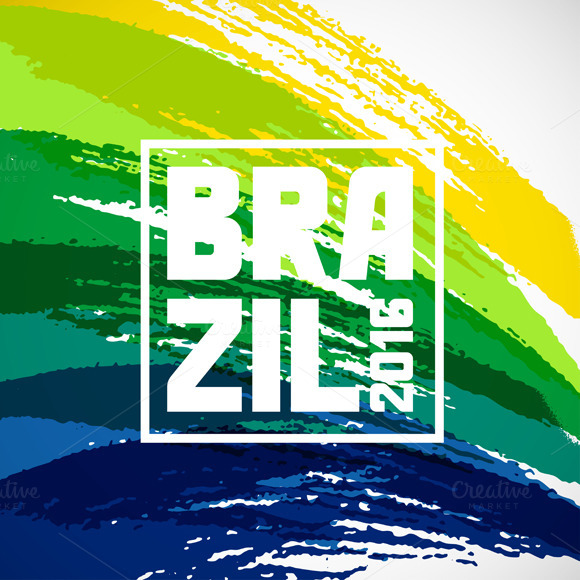 Brazil Abstract Backgrounds