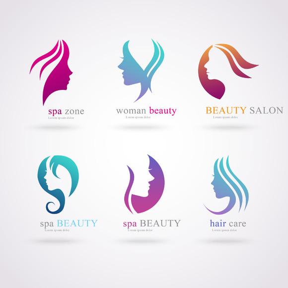 Hair Beauty Salon Logo