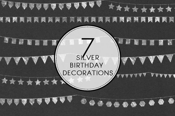 Silver Birthday Decorations