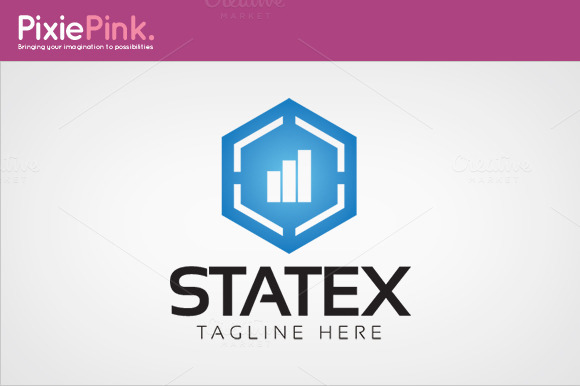 Statex Logo Template