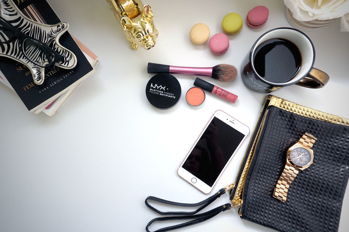 Stock Styled Photo-Beauty Blogger