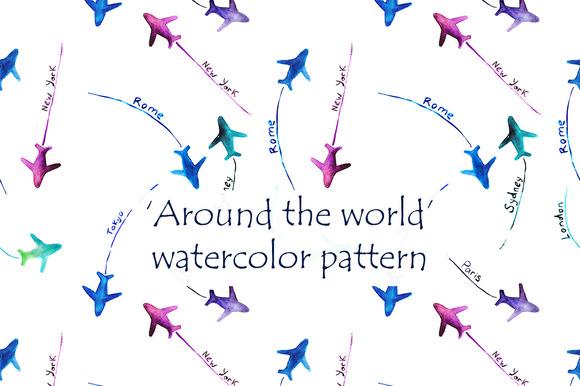 Around The World Pattern