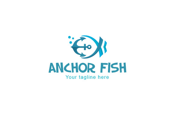 Anchor Fish-Abstract Water Creature