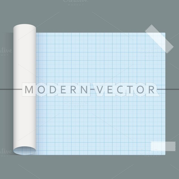 Big Sheet Of Squared Paper
