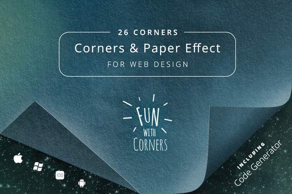 Fun With Corners For Webdesign