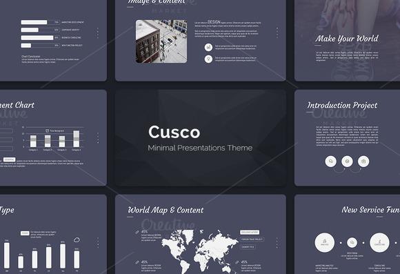 Cusco Minimal Flat Theme