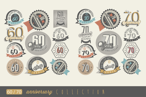 60 And 70 Anniversary Collection