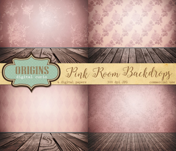Pink Room Backdrops