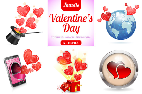 Valentine's Day Concepts