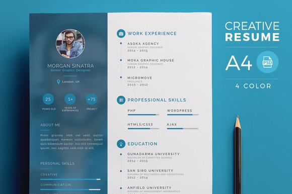 Creative Resume CV