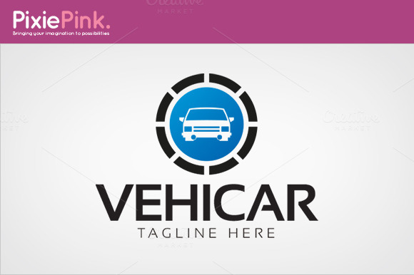 Vehicar Logo Template