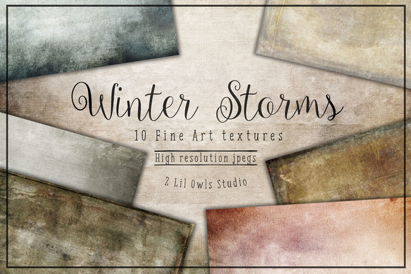 Winter Storms Fine Art Textures