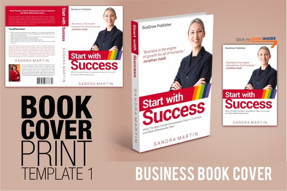 Book Cover TEMPLATE 1 Business