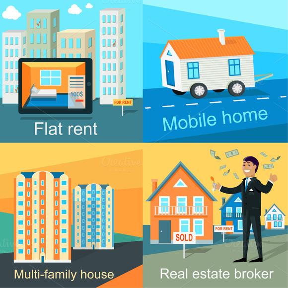 Mobile Home Flat Rent Multi-family