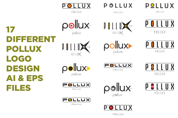 17 Different Pollux Logo Design
