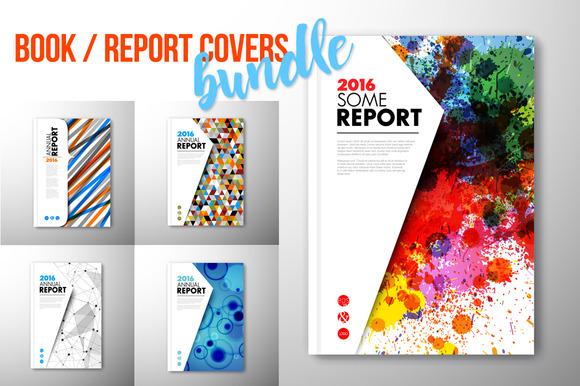 Report Book Brochure Cover