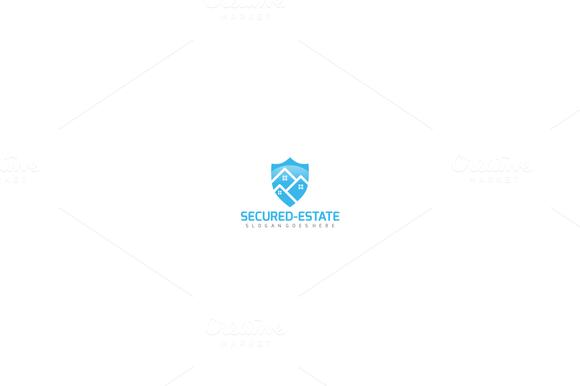 Real Estate Shield Logo