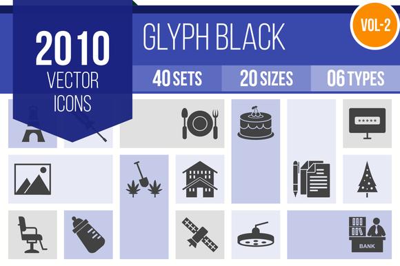 2010 Vector Glyph Icons
