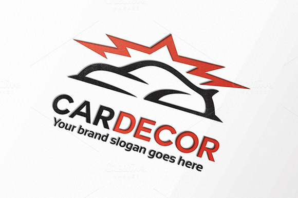 Car Bright Body Paint Logo