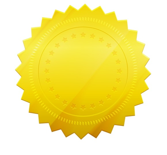 free gold seal of approval psd photoshop 187 designtube