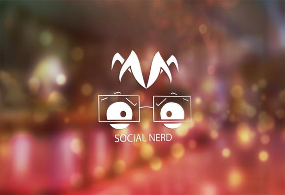 Social Nerd Logo Design