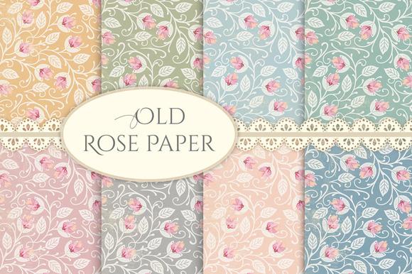 Old Rose Paper