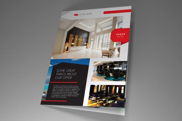 Hotel Brochure Templates