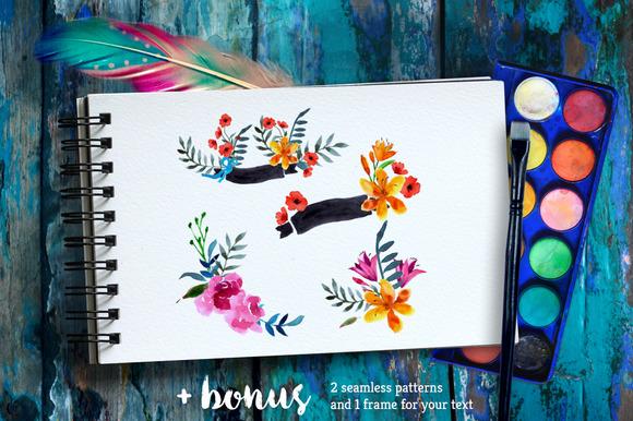 Ўн76 Wildflowers Blooming Background