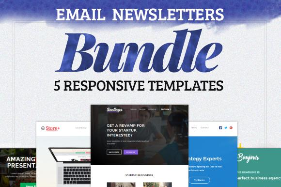 Responsive E-mails BUNDLE 80% OFF