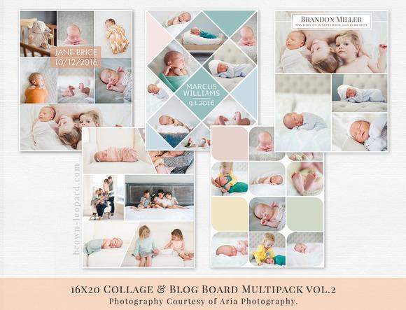 Collage Blog Board Multipack Vol.2