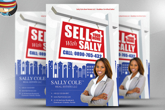 Sell Your Home Realtor Flyer
