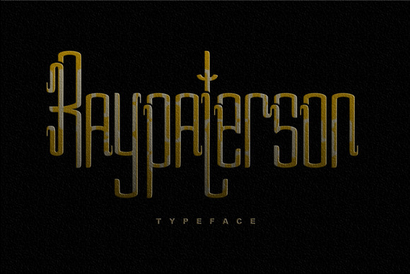 Ray Paterson Typeface