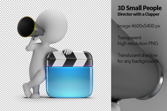 3D Small People Director