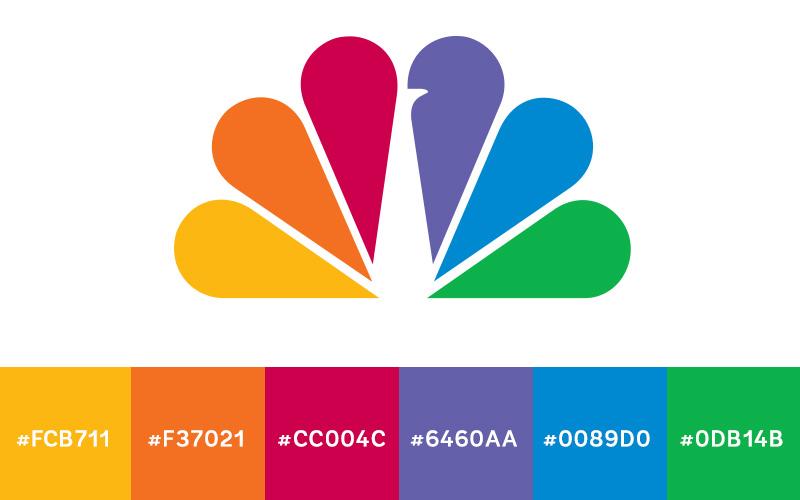 Company logos designs in blue colour