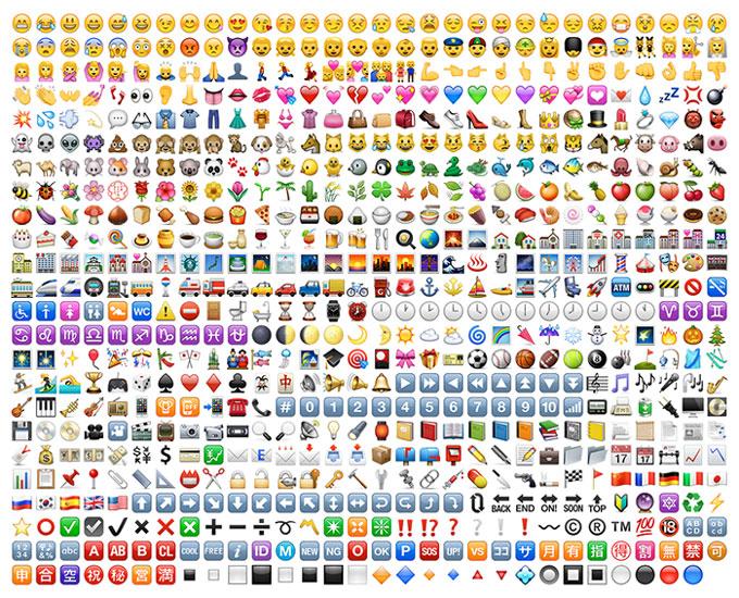 symboler på iphone