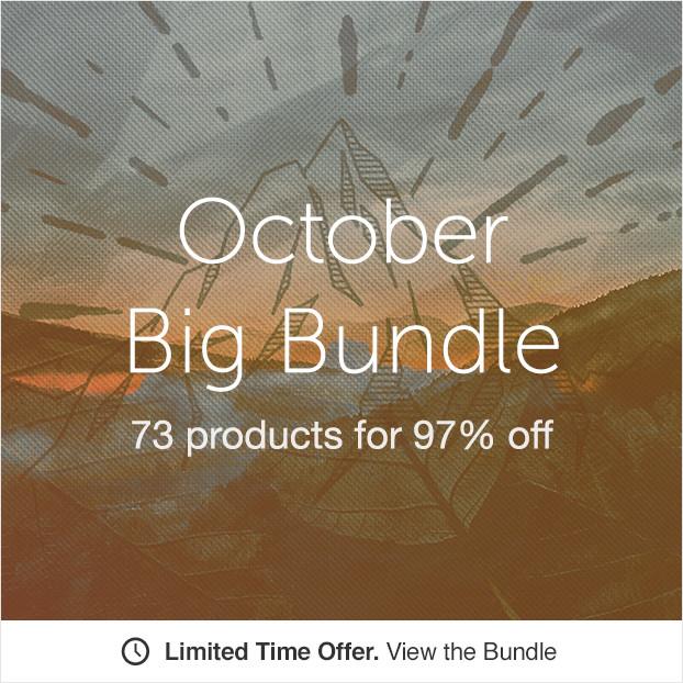 BIG BUNDLE on Creative Market again!