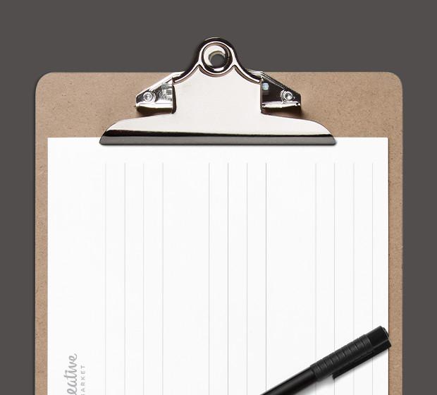 Font Design Tracing Sheet