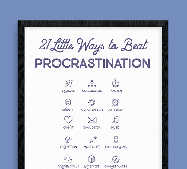 21 Little Ways To Beat Procrastination Once And For All