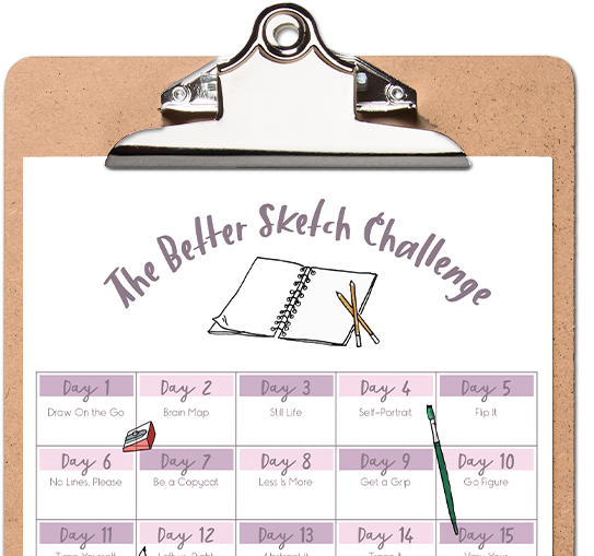 How To Improve Your Sketching Skills In 30 Days The Challenge Creative Market Blog