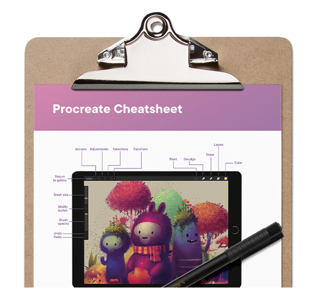 Procreate Cheatsheet