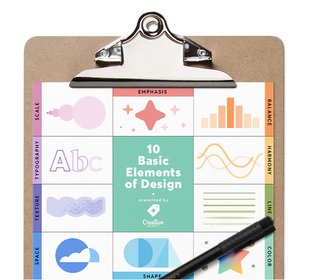 10 Basic Elements of Design Poster