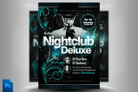 Nightclub Deluxe Flyer Template