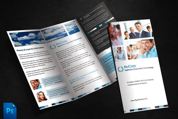 3 Fold Brochure Template