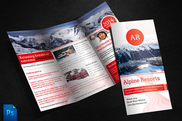 Alpine Travel Brochure Template