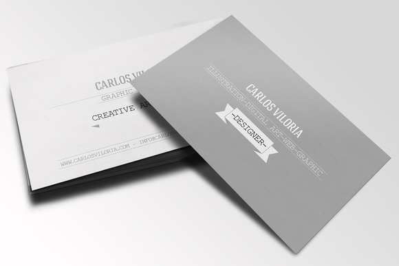 Retro Business Card 01