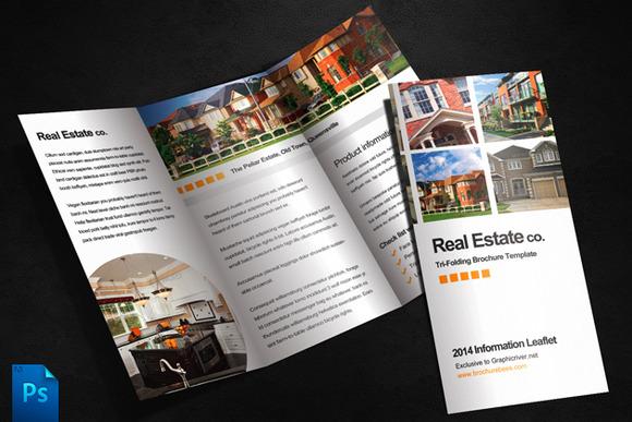 Real Estate Brochure Template   Brochure Templates on Creative Market 6brkIocV