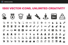 1500 Vector Icons - Minicons