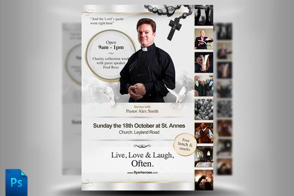 Religious Flyer Templates Free Download