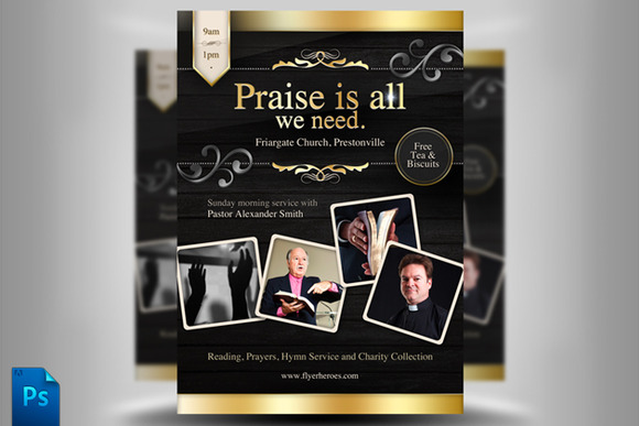 Free Church Templates Images - Free church brochure templates
