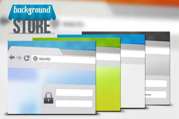 Web Browser Background